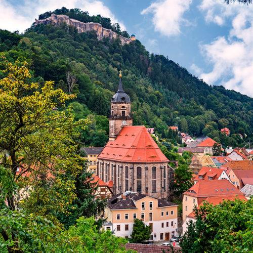 Königstein mit Festung